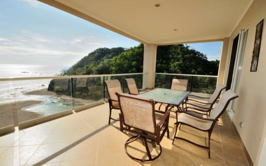 Absolute Beach Front Condominium in a Luxurious Setting in the North End of Jaco Beach Costa Rica!
