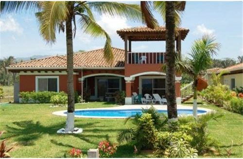 Titled Beachfront Home for sale in a Premium Location of Hermosa Beach, Costa Rica!