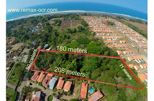 Development Lot available for sale in a prime location of the Central Pacific Coast of Costa Rica!