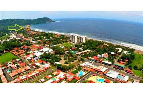 Large Corner Lot right at the Beach in Jaco, Costa Rica.