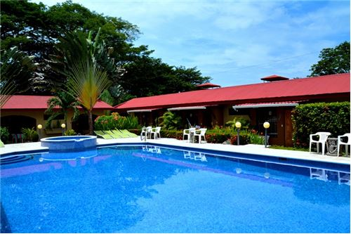 Hotel with Restaurant for Sale Near the Beach in Downtown Jaco!