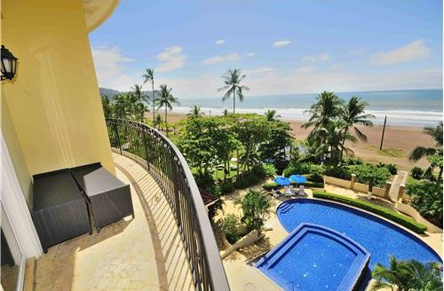 condo absolute oceanfront in a Luxurious Setting in Jaco Beach Costa Rica!