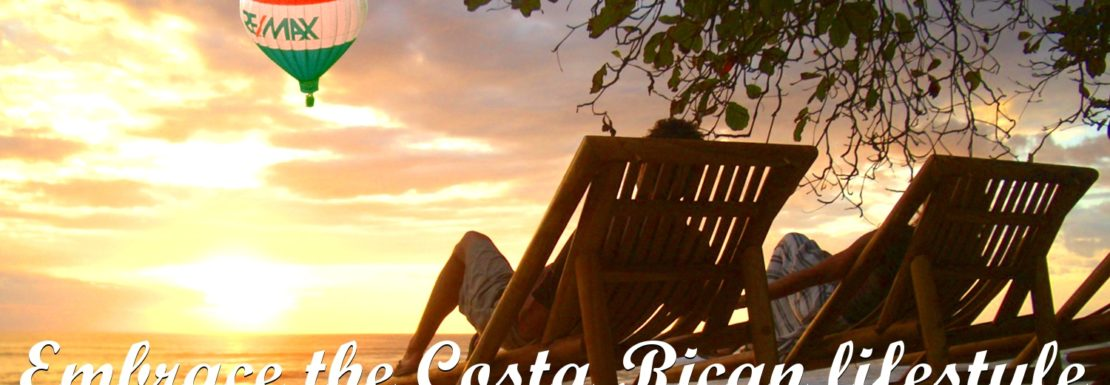 embrace the costa rican lifestyle by remax jaco balloon