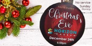 Horizion Christmas Eve Service