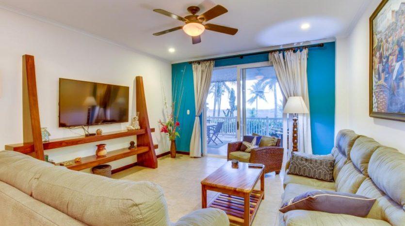 The Palms 101 Beachfront Condo for Sale in Jaco Beach, Costa Rica!