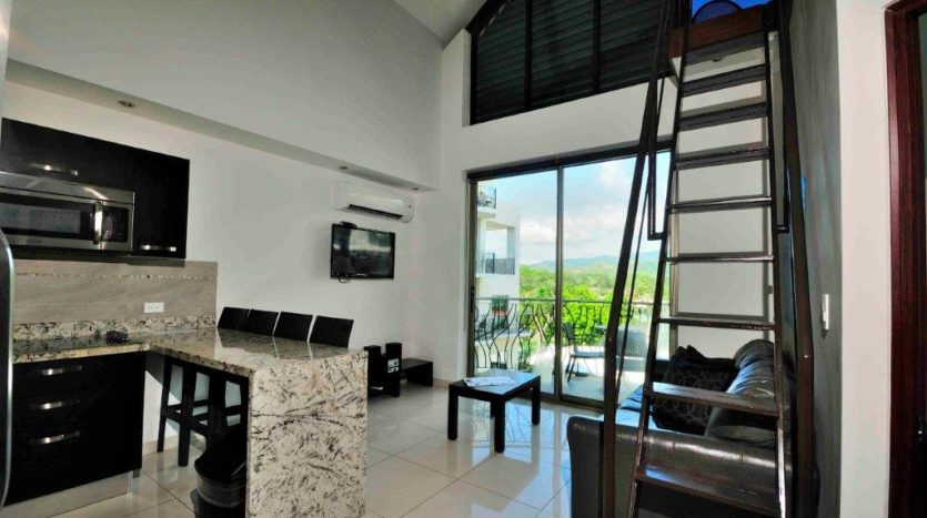 Oceano Duplex Loft for Sale in Jaco Beach,Costa Rica