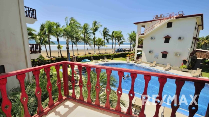 Bahia Azul 4B Furnished Oceanfront Condo for Sale in Jaco, Costa Rica