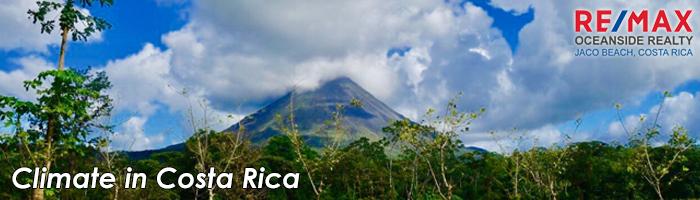 Climate in Costa Rica