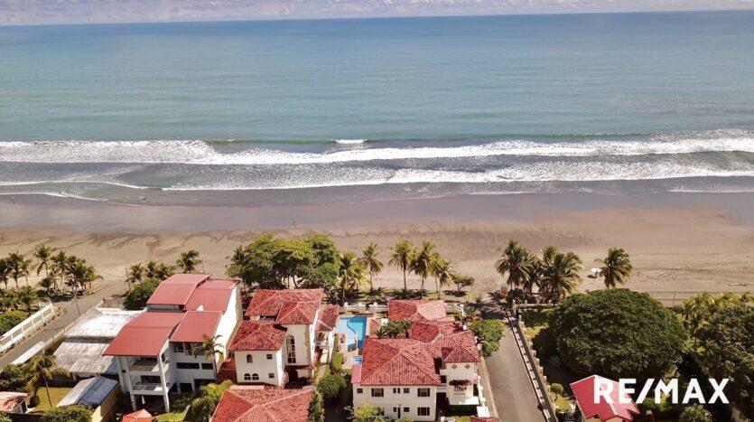 Jaco Beach Village from the sky